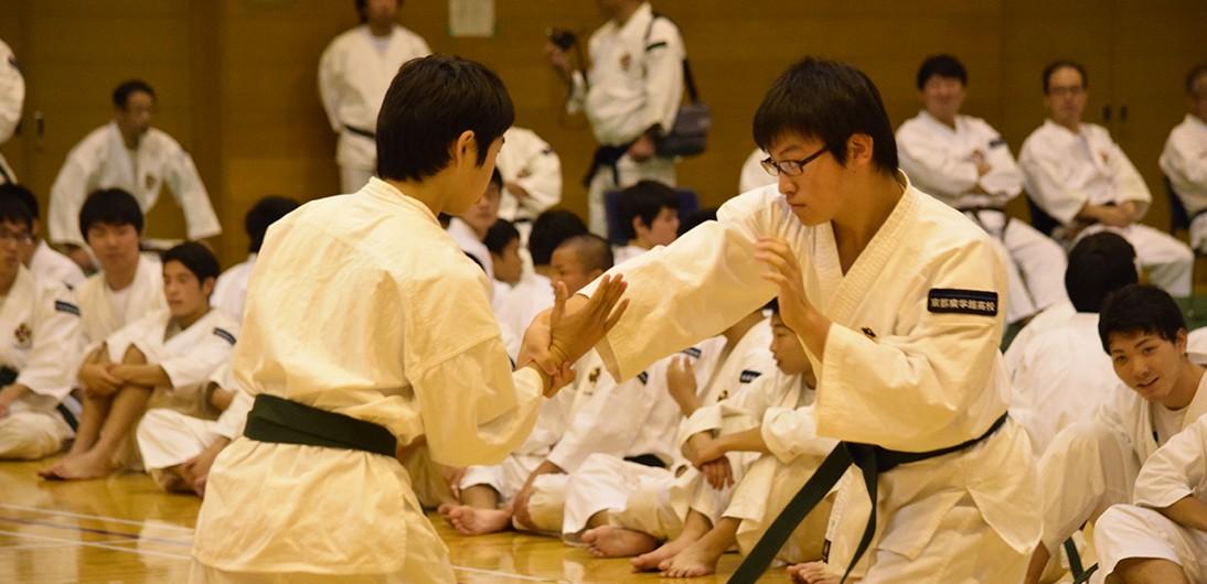 【少林寺拳法 創始70周年】恒例の校内少林寺拳法大会を開催しました。