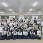 2016吹奏楽部全員