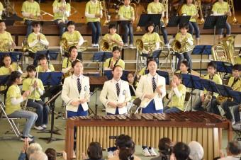 京都廣学館打楽器アンサンブル1