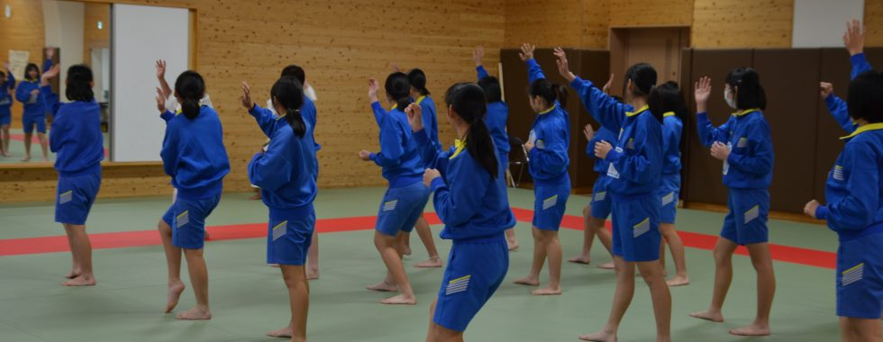 木津中学校で授業を行いました